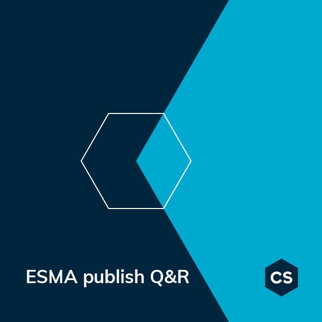Cytec ESMA publish Q&R